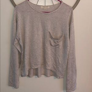 Living Doll NWT Semi-Cropped Long Sleeve Top